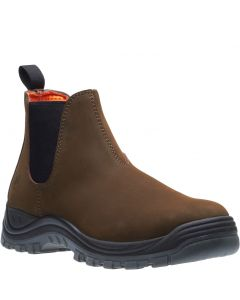 BROWN LITHIUM STATION BOOT