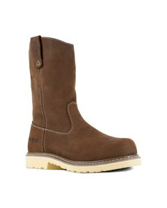 BRN WELLY W/P PULL-ON BOOT